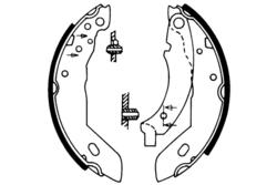 MAPCO 8122 Bremsbacken (4 Stück)