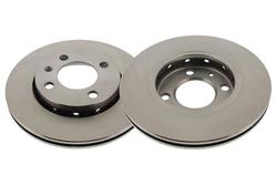 MAPCO 15835/2 Bremsscheiben 2x Bremsscheibe Vorderachse