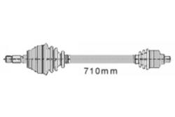 MAPCO 16104 Gelenkwelle