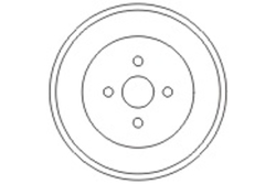 MAPCO 35502 Bremstrommel