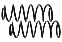 MAPCO 72801/2 Fahrwerksfeder Satz Vorderachse für VW Golf III