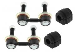 MAPCO 53681 Koppelstangen verstärkt HPS 2x Koppelstange + Stabibuchsen  hinten