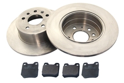 MAPCO 47677 brake kit