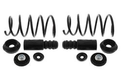 MAPCO 70101/3 Fahrwerksfedern 2 + 2 Domlager + Staubschutzsatz