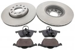 MAPCO 47927 Bremsensatz Bremsscheiben mit Bremsbelägen