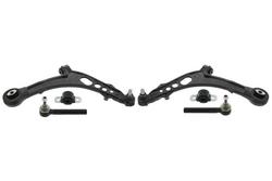 MAPCO 53045 Querlenker links und rechts 2 Stück mit Stabibuchsen mit Spurstangenköpfen